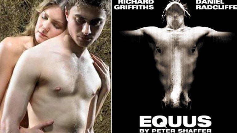 Fotos del actor Daniel Radcliffe en Equus -
