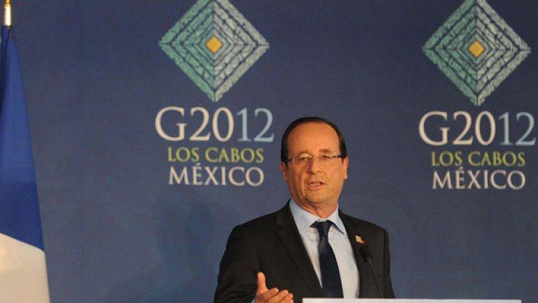 François Hollande vendrá a la Argentina en febrero