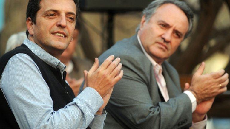 Sergio Massa y Joaquín de la Torre.