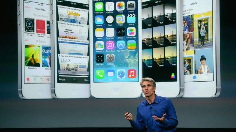 Craig Federighi, vicepresidente de Software, dio detalles sobre iOS 7