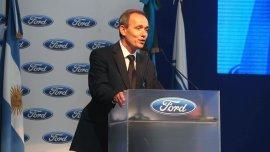 Enrique Alemañy, presidente de Ford Argentina y de Adefa, resaltó el repunte del mercado interno