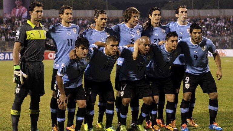 foto seleccion uruguaya: