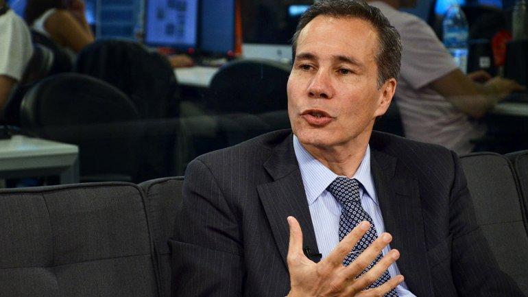 Nisman en los estudios de InfobaeTV