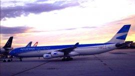 Los pasajeros de Aerolíneas Argentinas están varados en Londres desde ayer - imagen de archivo