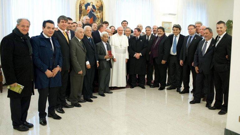 En su anterior encuentro, Francisco pidió al sindicalismo que trabaje para unificar a la CGT