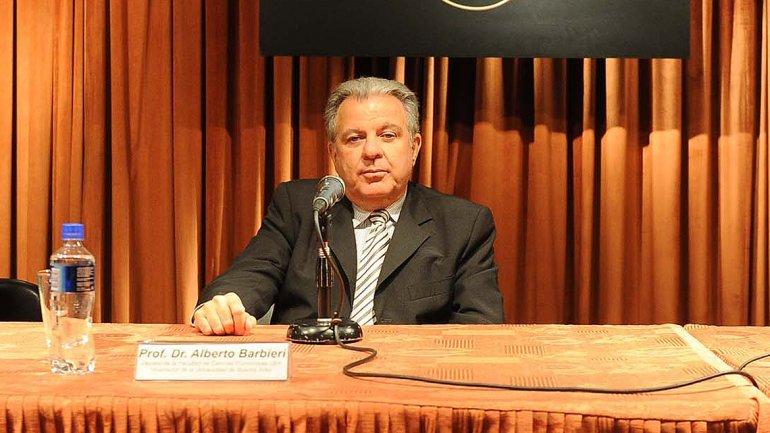 Alberto Barbieri, nueva gestión de la Universidad de Buenos Aires.
