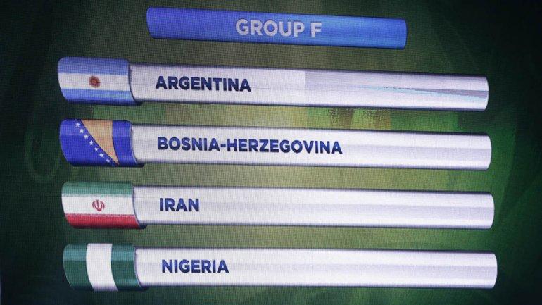 Argentina tendrá un grupo accesible en la Copa del Mundo.