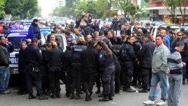 Foto de archivo. Los policías expresaron su malestar pero por ahora descartan acuartelamientos