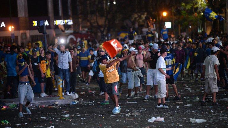 Tiembla McDonald, Boca al fin tendra una alegria