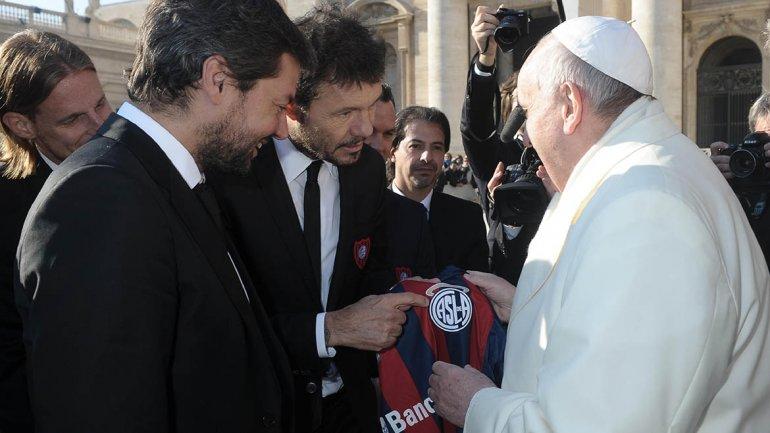 Papa Francisco y Tinelli