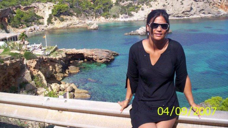 Claudia Rodríguez publicó en su cuenta de Twitter fotos de su viaje a Ibiza.