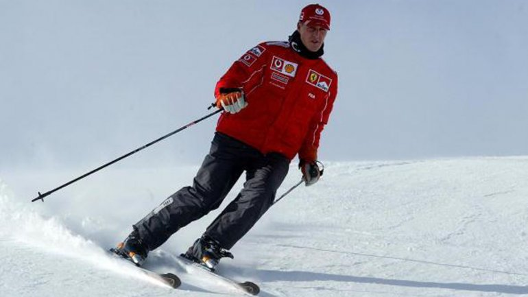 Schumacher Corredor De F1 Accidentado