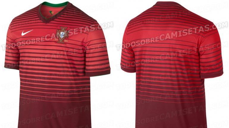 Se Filtraron Im  Genes De Las Camisetas Que Usar  N En Brasil