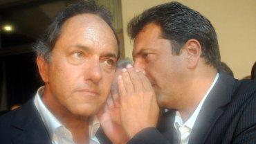 Scioli y Massa pueden volver a verse las caras este domingo en la Vendimia