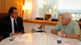 Daniel Scioli lo ha prometido y lo va a cumplir, aseguró Antonio Caló