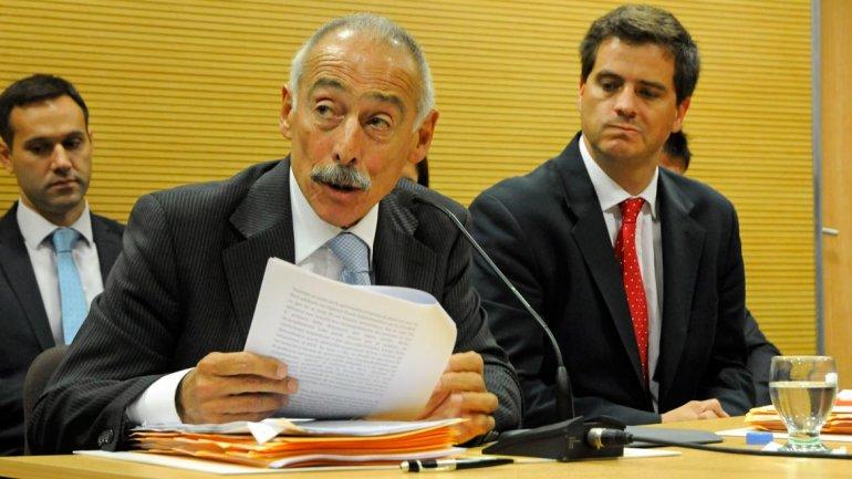 José Sbatella durante una audiencia (Imagen de archivo)
