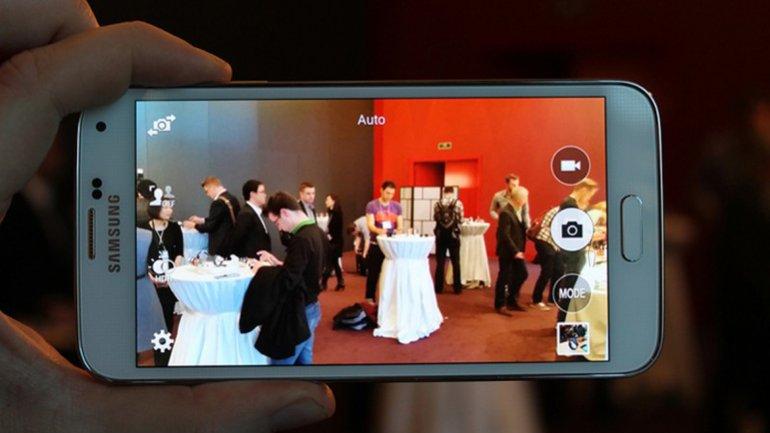 Imágenes del que sería el Galaxy S5