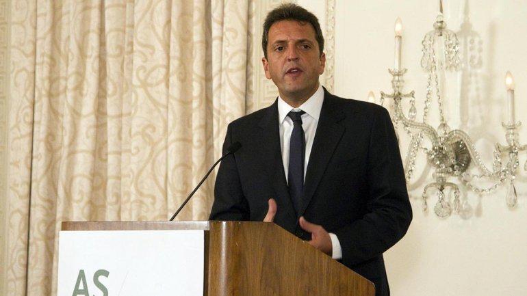 Sergio Massa, en el Council of the Americas