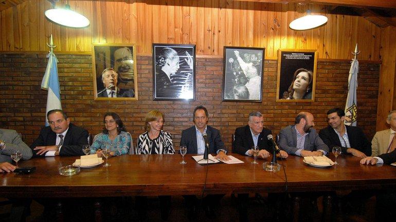 Dirigentes del Consejo Nacional del Justicialismo buscaron acordar una lista de unidad con vistas al congreso nacional partidario convocado para el 9 de mayo próximo