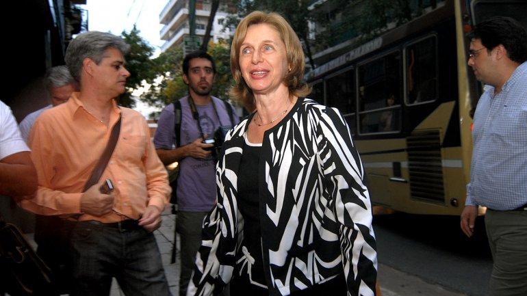 La senadora tucumana Beatriz Rojkés de Alperovich