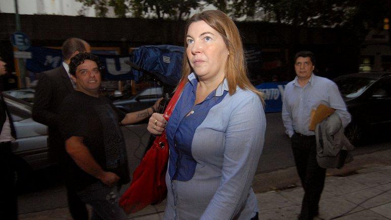 La senadora por Tierra del Fuego Rosana Bertone