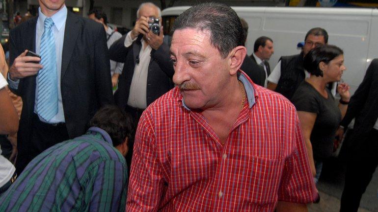 Omar Viviani, dirigente de taxistas