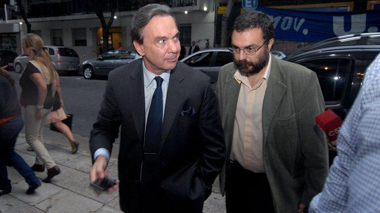 Miguel Ángel Pichetto, jefe de la bancada kirchnerista en el Senado