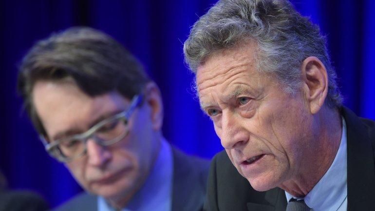 Economista jefe del FMI, Olivier Blanchard.