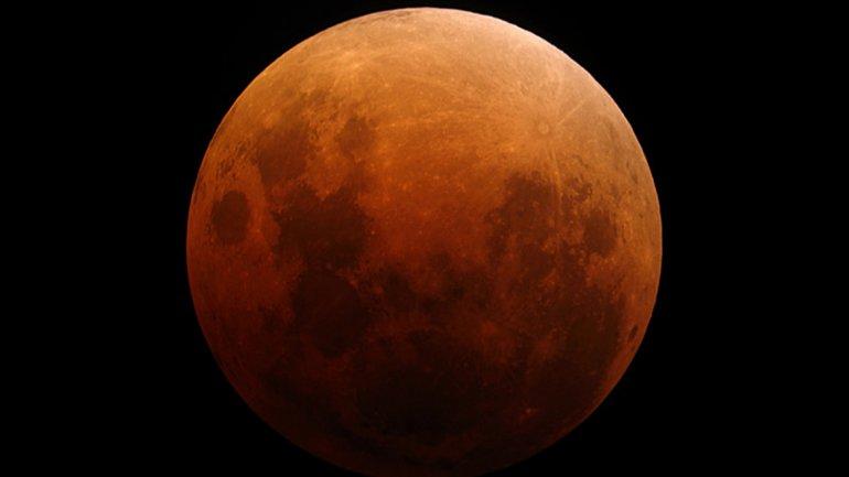 Esta noche, un eclipse total de Luna