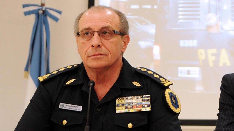 Román Di Santo renunció a la Policía Federal