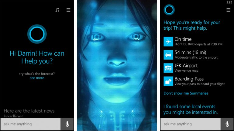 Un acercamiento a Cortana, el asistente de voz de Windows Phone