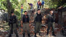 Operativo de Gendarmería en la provincia de Santa Fe, golpeada por la violencia narco