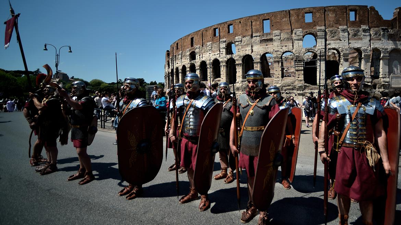 la fundacion de roma: