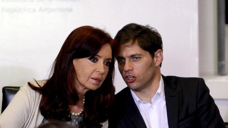 Resultado de imagen de Cristina y Kicillof