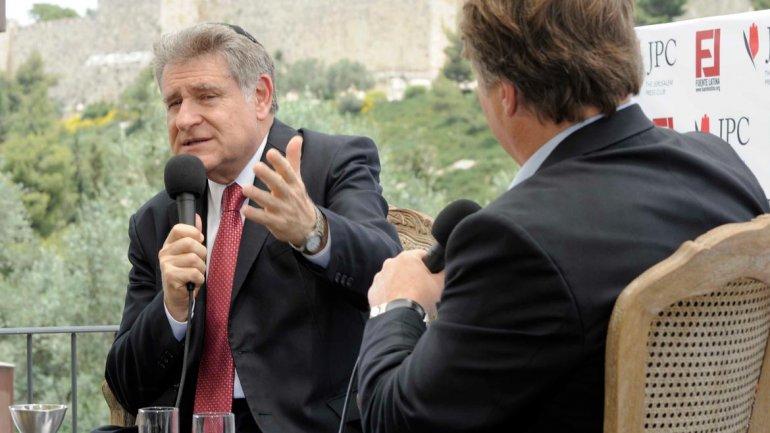 Abraham Skorka, en la conferencia organizada por Fuente Latina, en Israel