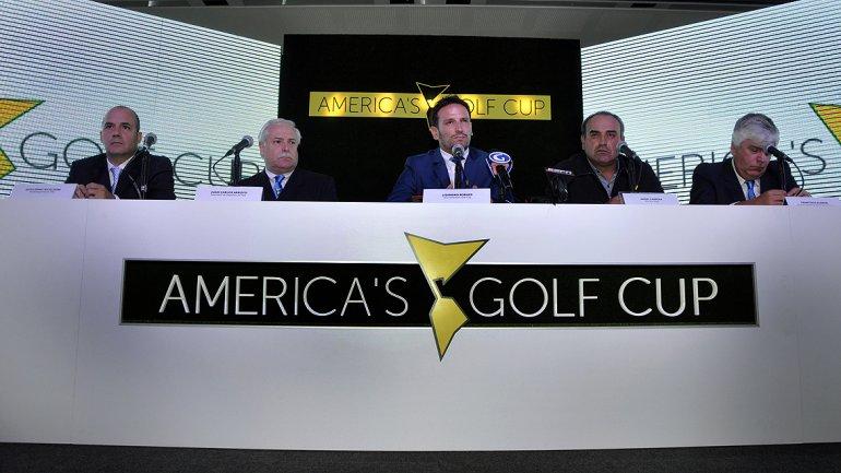 Presentación oficial del America's Golf CUP 2014