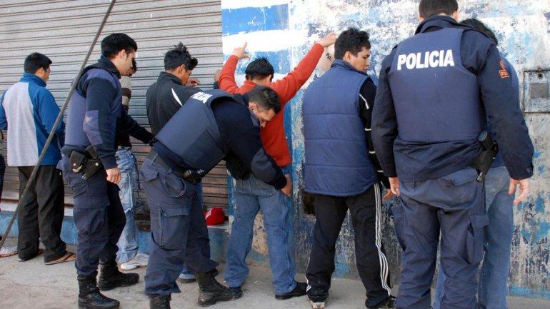 Operativo de detención realizado por la Policía Bonaerense (Imagen de archivo)