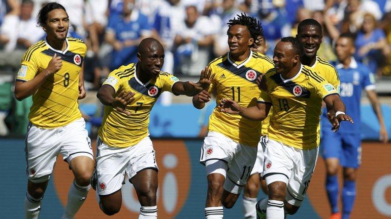Colombia venció a Grecia en su primer partido del Mundial