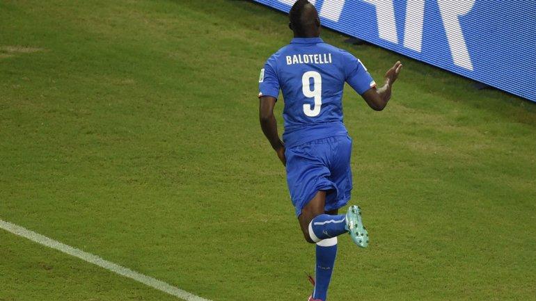 De la mano de Balotelli Italia derrotó a Inglaterra