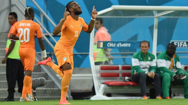 Costa de Marfil sorprendió en su debut y derrotó a Japón