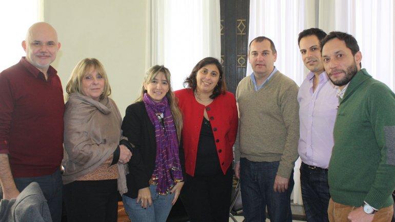Los legisladores del Frente Amplio Unen se encolumnaron por primera vez detrás de un proyecto común