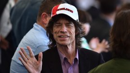 Músico británico Mick Jagger