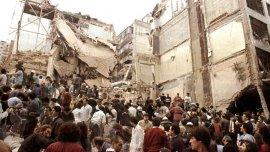 Todo el barrio se vio afectado por la fuerte explosión