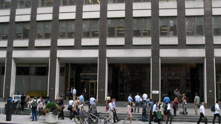 El edificio donde se encuentra la oficina del mediador,en pleno corazón de Manhattan.