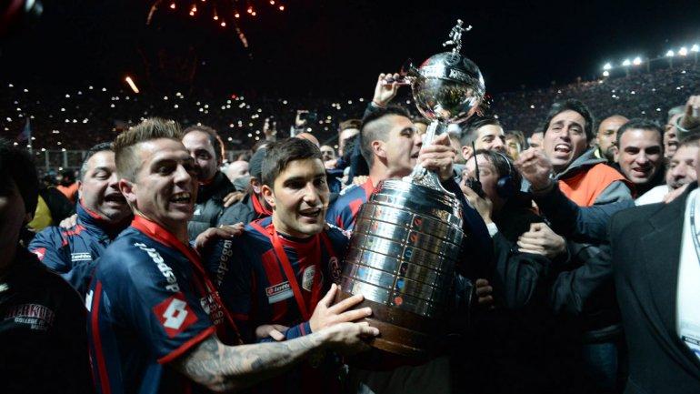 San Lorenzo consiguió la Copa Libertadores por primera vez en su historia
