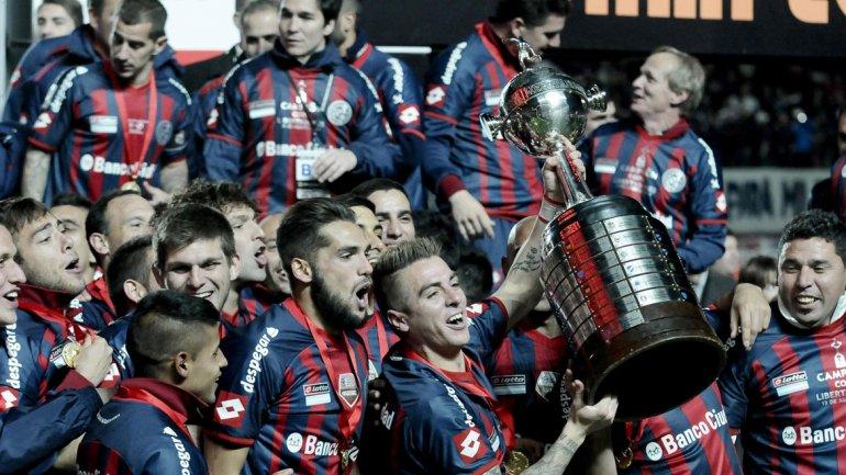San Lorenzo logró la Copa Libertadores por primera vez en su historia