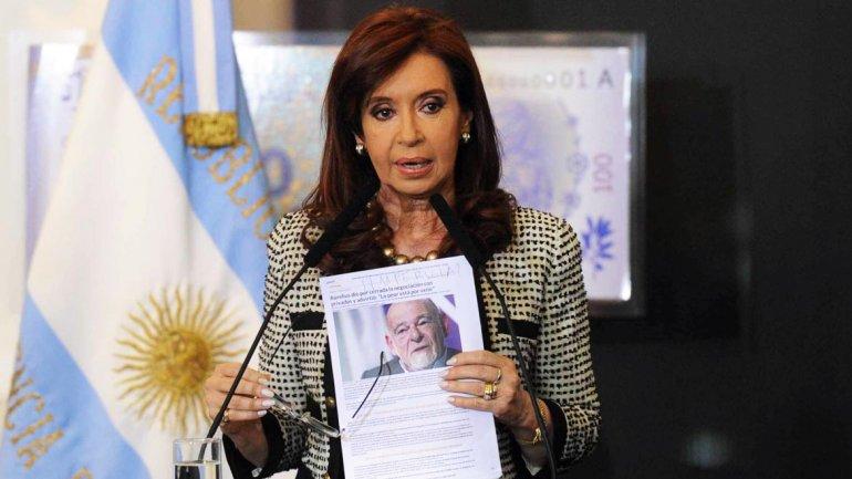 Cristina Kirchner anunció que aplicarán la ley antiterrorist