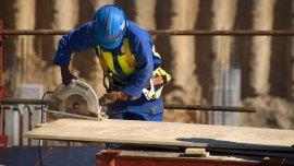 Tras alcanzar un pico de 427.000 empleos, la construcción ahora ocupa a 415.000 personas en blanco