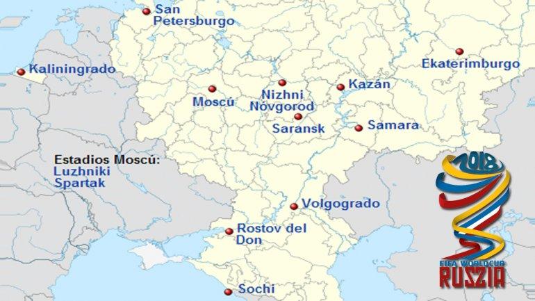 Rusia rechazó el pedido que le hizo la FIFA para que disminuya la cantidad de sedes de Mundial
