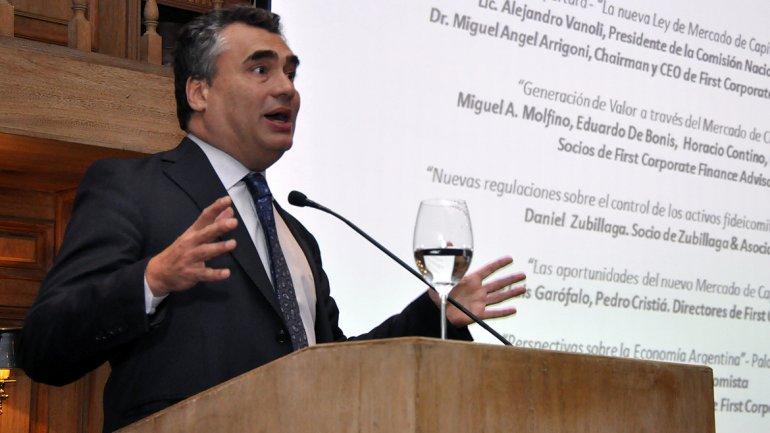 Alejandro Vanoli: Vemos signos muy claros de desaceleración de la inflación